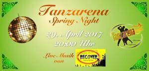 Tanzarena Springparty Titel